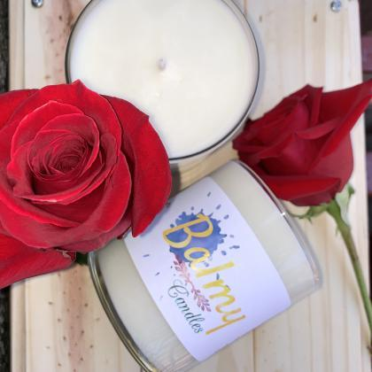 Red Rose Scented Soy Wax Candle | H..