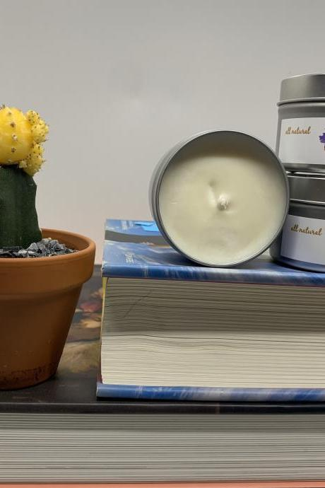 Clean Cotton Soy Wax Candle | Hand-poured Soy Candle